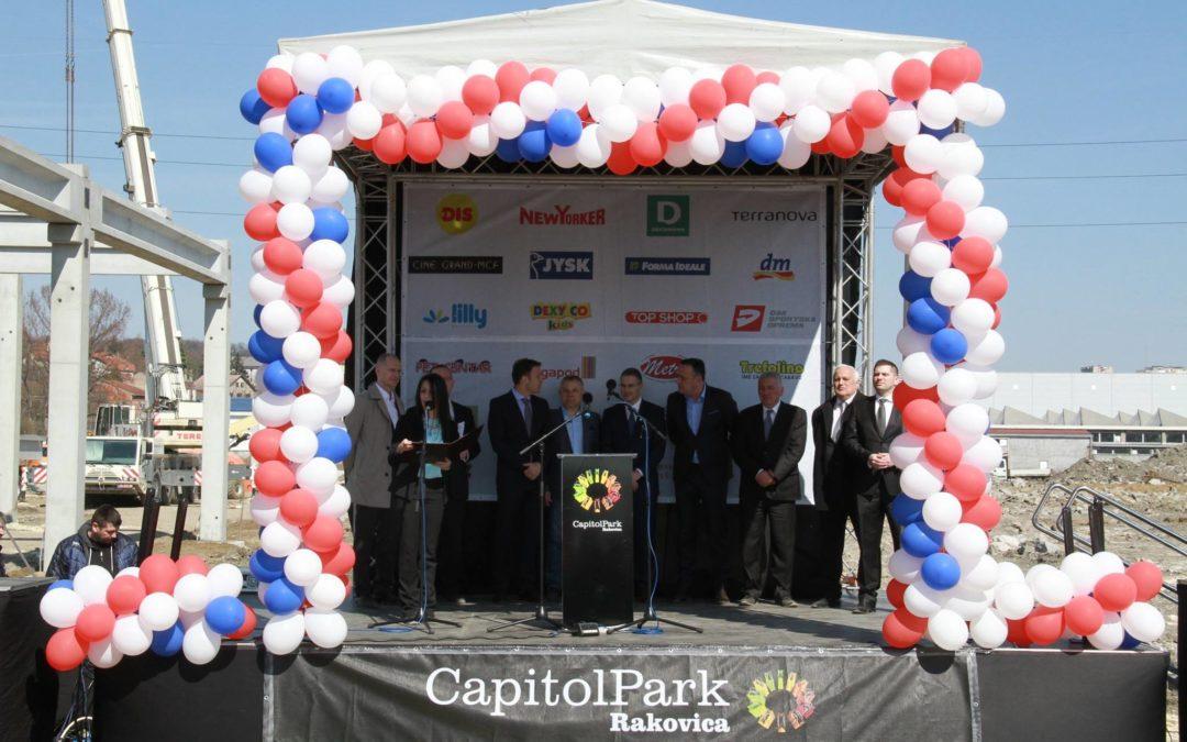 Construction starts at Capitol Park Rakovica