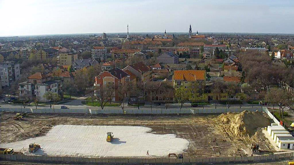 Construction Starts on Capitol Park Sombor in Serbia