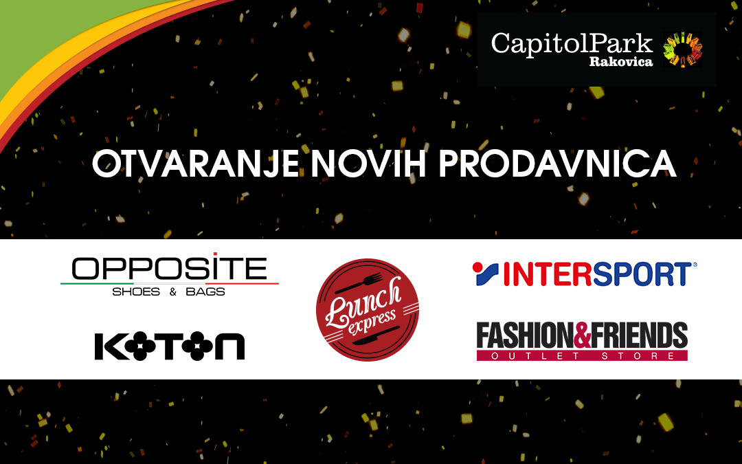 New fashion brands join Capitol Park Rakovica this October